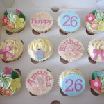 26th Birthday Cupcakes