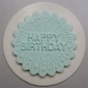 Happy Birthday Cupcake Topper