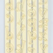 Lower Case Funky Alphabet Tappit Set