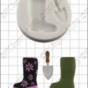 Wellington Boot & Trowel