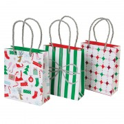 Jingle all the Way Small Gift Bag Set