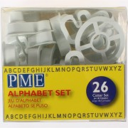 PME Cutter Alphabet Set 26 piece