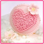 katy sue lace heart mould