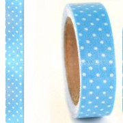 Baby Blue Fabric Masking Tape