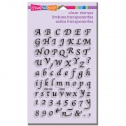 Calligraphy Alphabet Clear Stamp Set