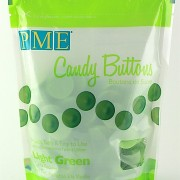 PME Candy Buttons Vanilla Light Green