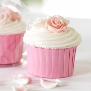 Pink Baking Cups.