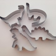 Set of 4 Dinosaur Cutters
