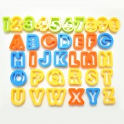 Alphabet and Numbers Plastic Cutters
