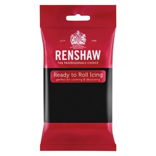 Renshaw Ready to Roll Jet Black Icing