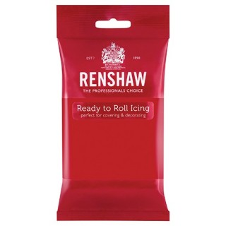 Renshaw Ready to Roll Poppy Red Icing